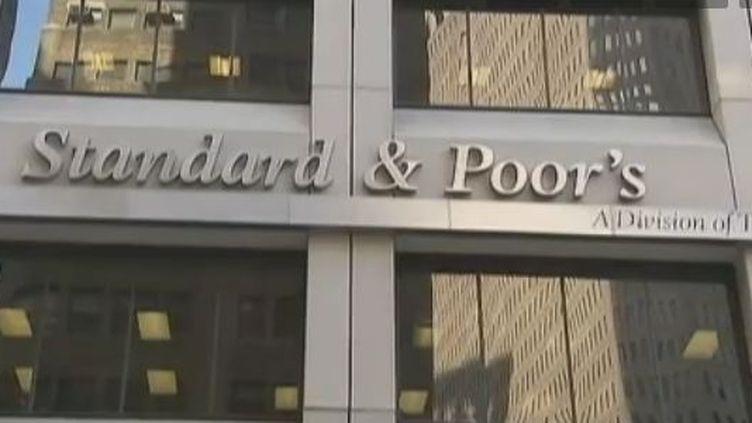 Siège de l'agence de notation Standard and Poors à New York (Vidéo : VALERY LEROUGE, ALEXIS JACQUET ET JULIEN DUPERRAY / France 2)