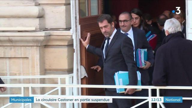 Municipales : le Conseil d'État suspend en partie la circulaire Castaner