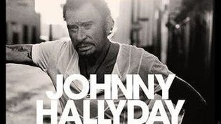 """Détail de la pochette de l'album posthume de Johnny Hallyday,""""Mon pays c'est l'amour"""".  (Warner )"""