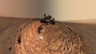 Le robot Curiosity explore la planète Mars depuis 2012 (HO / NASA/JPL-CALTECH/MSSS)