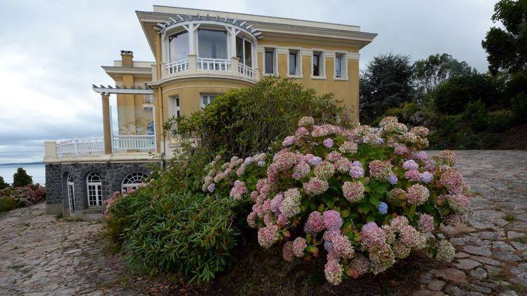 La villa le Caruhel, à Étables-sur-Mer(13 septembre 2013)  (Damien Meyer / AFP)