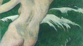 """Paul Gauguin (1848-1903) """"Dans les vagues"""" 1889 - huile sur toile ; 92,5 x 72,4 cm - Cleveland, The Cleveland Museum of Art, don deMr et Mme William Powell Jones (GARY KIRCHENBAUER / THE CLEVELAND MUSEUM OF ART)"""