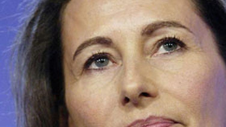 """Mme Royal a jugé """"accablant"""" le livre """"qui dénonce les conditions d'élection de la première secrétaire du PS. (© AFP/Stéphane de Sakutin)"""