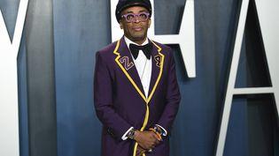 Le cinéaste américain Spike Lee le 9 février 2020 à Beverly Hills, à la Vanity Fair Oscar Party (EVAN AGOSTINI / AP / SIPA)