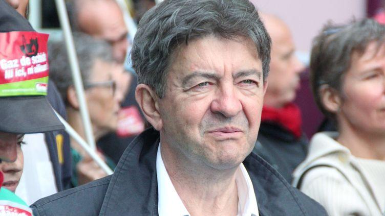 Jean-Luc Mélenchon à Paris, le 21 septembre 2014. (LYSIANE MARTEL / CITIZENSIDE / AFP)
