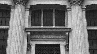 Le Palais de justice de Paris photographié par David Fritz-Goeppinger, lors du procès des attentats du 13-Novembre. (DAVID FRITZ-GOEPPINGER POUR FRANCEINFO)