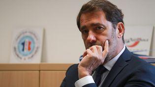 Le ministre de l'Intérieur, Christophe Castaner, à Evry, le 9 juin 2020. (LUDOVIC MARIN / POOL / AFP POOL)