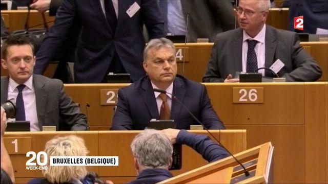 Hongrie : passe d'armes avec l'Union européenne