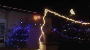 Fêtes de fin d'années : un air de Noël chez les Français. (Capture d'écran/France 2)