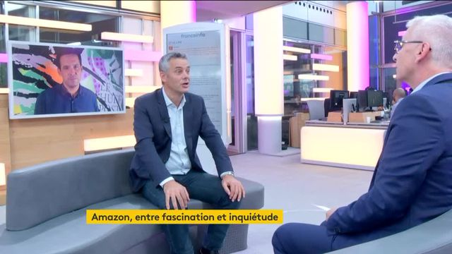 Invité de Jean-Paul Chapel, mardi 26 septembre, Frédéric Duval, patron d'Amazon France, a évoqué le développement de l'entreprise.
