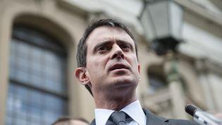 Manuel Valls, le 14 avril 2014 à Berlin (Allemagne). (MICHAEL GOTTSCHALK / PHOTOTHEK)