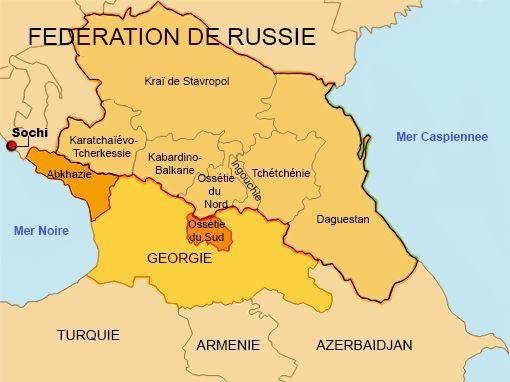 La région du Caucase russe est minée par le terrorisme islamiste. (LAURENT FILIPPI / GEOPOLIS / FRANCE TELEVISIONS)