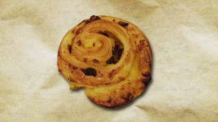 """Le """"pain aux raisins"""", ce nom est utilisépar la plupart des Français. Mais dans l'est, il faudra demander un """"escargot"""". (France 2)"""
