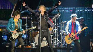 Les Rolling Stones en concert à Singapour le 15 mars 2014  (ROSLAN RAHMAN / AFP)