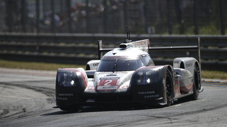 La Porsche n°2 remportant les 24 Heures du Mans. (ANTONIN VINCENT / DPPI MEDIA)