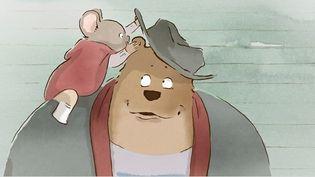Ernest et Célestine , une belle histoire d'amitié entre un our et une souris  (DR)