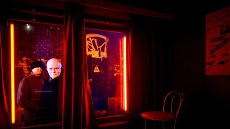 Le musée de la prostitution à Amsterdam, le 31 janvier 2014. (AFP/Koen Van Weel)
