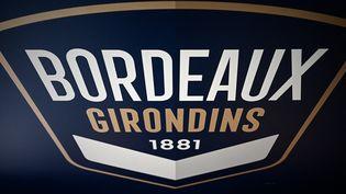 L'emblème des Girondins de Bordeaux. (PHILIPPE LOPEZ / AFP)