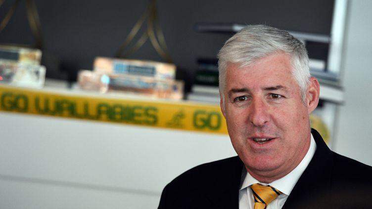 Cameron Clyne, le président de la fédération australienne de rugby
