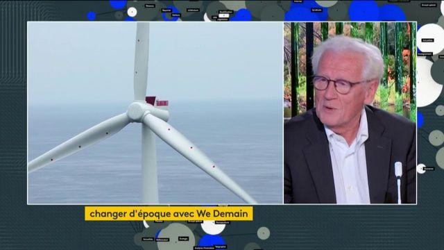We Demain défend les éoliennes en mer et sur terre