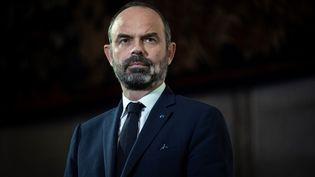 Le Premier ministre Edouard Philippe le 11 décembre 2019 lors de la présentation de la réforme des retraite au Conseil économique, social et environnemental à Paris. (THOMAS SAMSON / AFP)