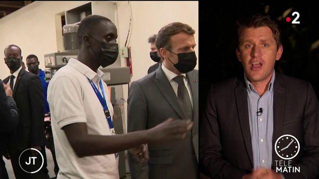 Opération séduction pour Emmanuel Macron en Afrique du Sud