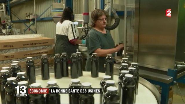 Économie : la bonne santé des usines