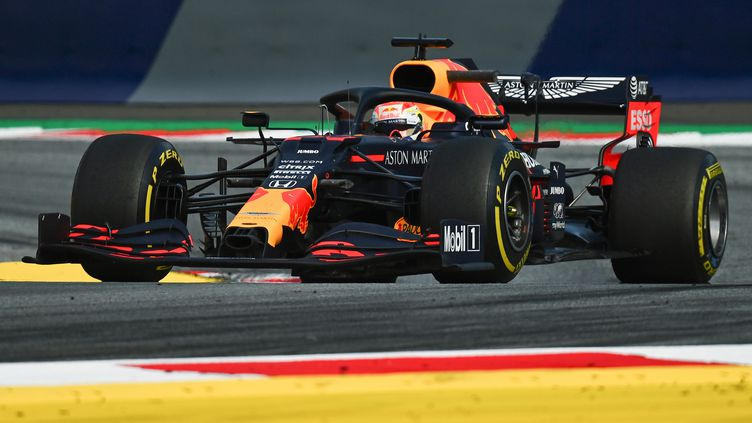 Max Verstappen, écurie Red Bull (JOE KLAMAR / AFP)