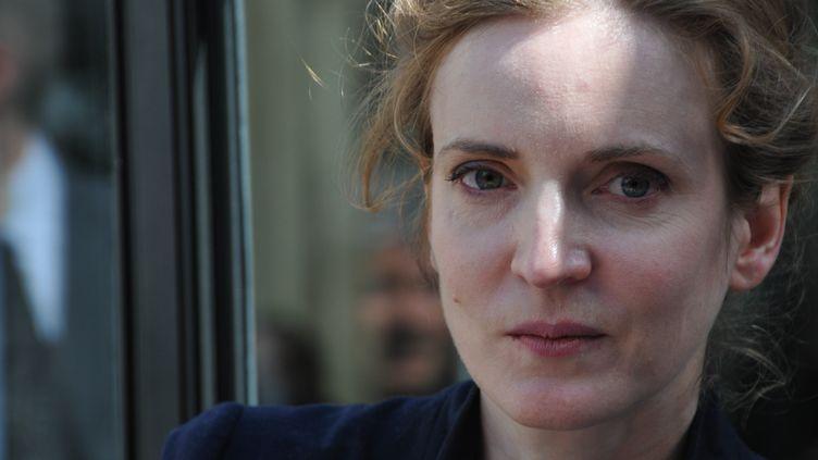 Nathalie Kosciusko-Morizet, à Paris, le 11 avril 2012. (ZAER BELKALAI / AFP)