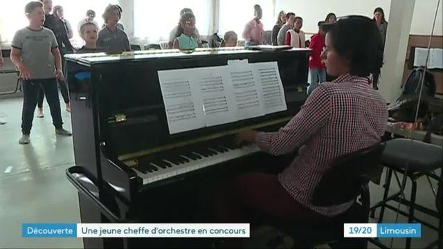 Anne-Laure Bourion, jeune cheffe d'orchestre