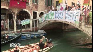 Venise sera-t-elle la première ville au monde détruite par le tourisme de masse ? (ENVOYÉ SPÉCIAL  / FRANCE 2)