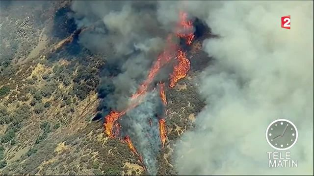 incendies californie feu