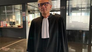 Me Thierry Fillion, l'un des avocatsd'Hubert Caouissin,condamné pour le quadruple meurtre de la famille Troadec. (ANNE PATINEC / RADIO FRANCE)
