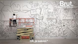 VIDEO. Une journée avec l'artiste Shantell Martin (BRUT)