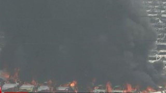 A Tianjin, la population a été évacuée