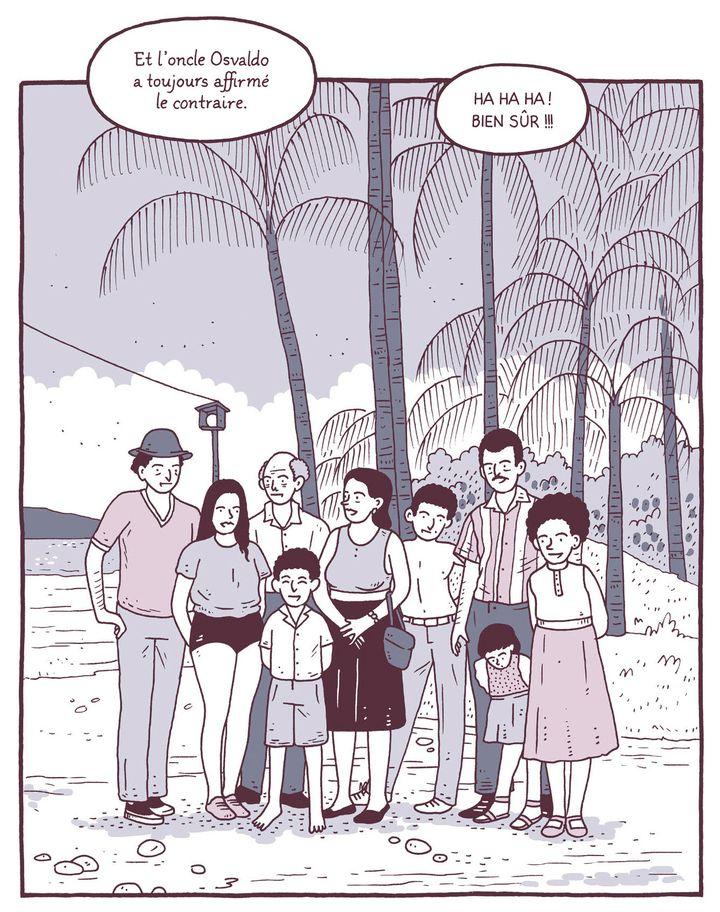 """""""Bons baisers de Limón"""" d'Edo Brenes (page 25) septembre 2021 (CASTERMAN)"""