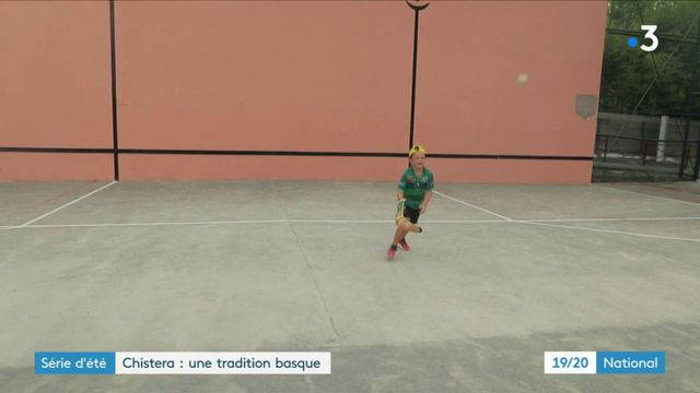 Sport  : la pelote, une tradition basque