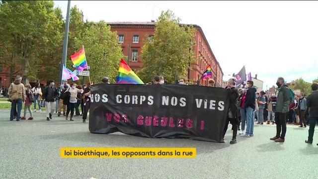 Loi bioéthique : tensions dans les rues de France