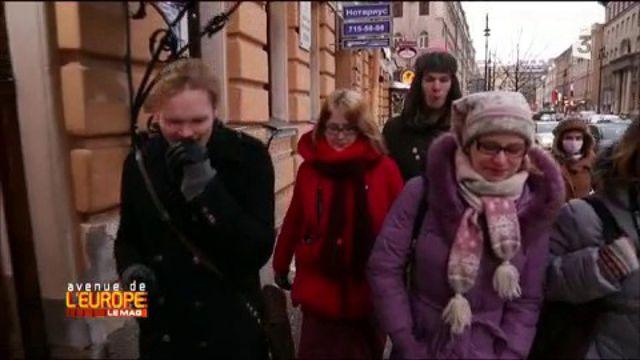 """Des """"Poutine tours"""" sur les lieux de l'enfance du président russe"""