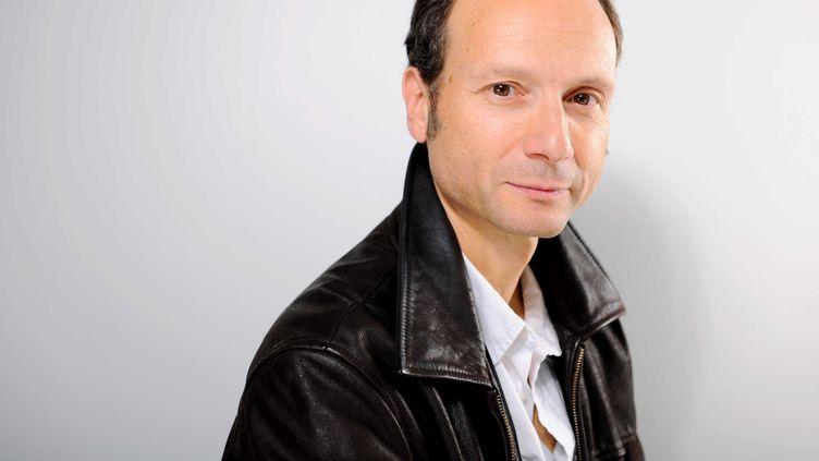 L'économiste et philosophe Frédéric Lordon photographié à Paris le 11 janvier 2011. (BALTEL/SIPA)