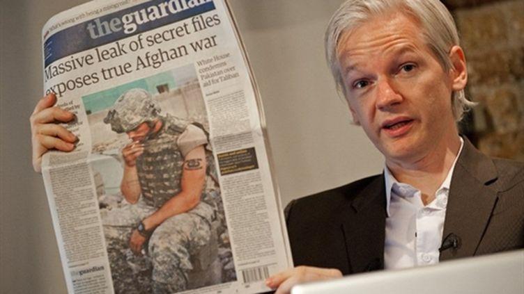 Le fondateur de Wikileaks, l'Australien Julian Assange (27-6-2010) (AFP - Leon Neal)