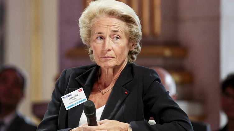 La maire de Beauvais, Caroline Cayeux, en septembre 2014 à Paris. (MAXPPP)