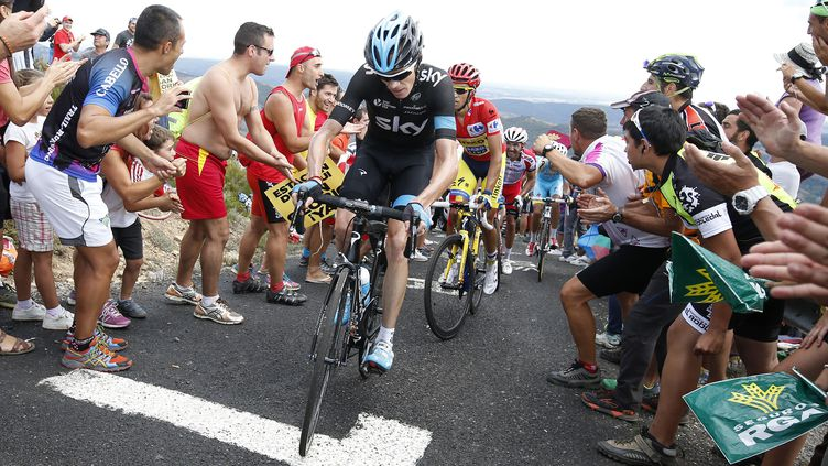 En 2014, Chris Froome avait pris la 2e place du général, derrière Alberto Contador  (YUZURU SUNADA / BELGA MAG)