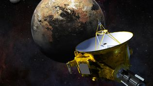 La sonde New Horizons à l'approche de Pluton, en juillet 2015. (HANDOUT / NASA)