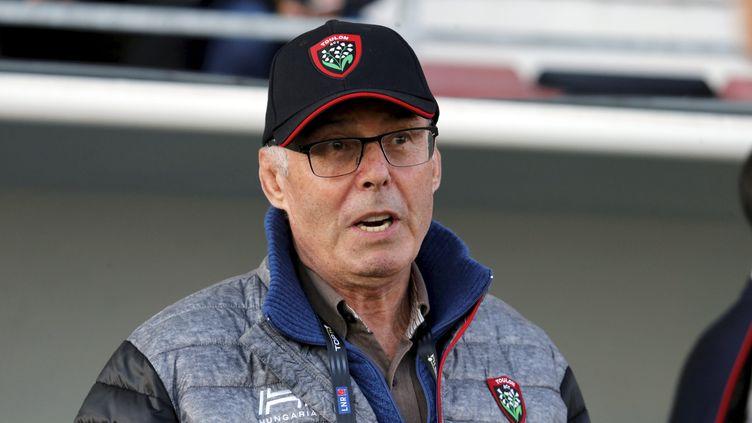 Bernard Lemaitre, prédisent du Rugby Club Toulonnais.  (NICOLAS VALLAURI / MAXPPP)