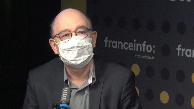 Gérard Mardiné, secrétaire général de la CFE-CGC (FRANCEINFO / RADIOFRANCE)