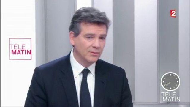 """Arnaud Montebourg, candidat du travail et de la """"feuille de paie"""""""