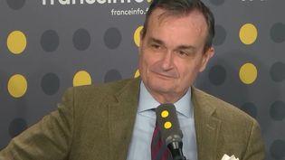 Gérard Araud, ancien ambassadeur de France aux États-Unis, invité de franceinfo lundi 30 avril. (FRANCEINFO / RADIOFRANCE)