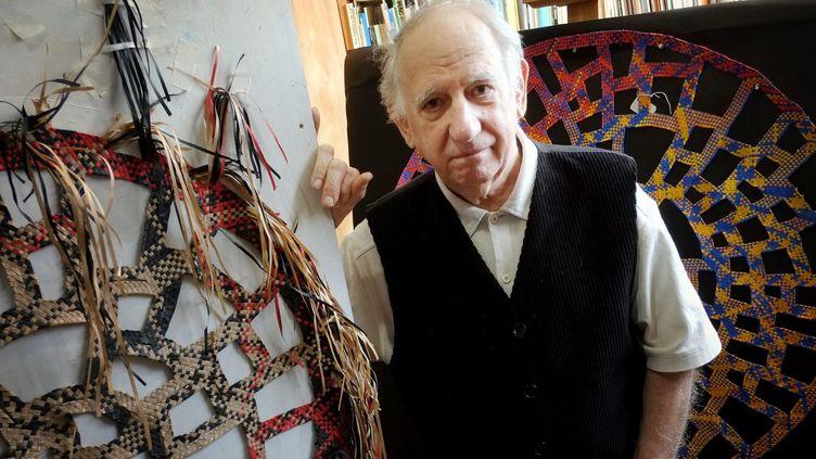 Guy Houdouin alias Odon dans son atelier de Nogen-sur-Marne en février dernier.  (J-F.Ottonello / Photopqr / Nice Matin / MaxPPP)