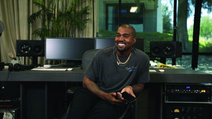 """Kanye West interviewé pour le documentaire """"colette, mon amour"""". 2020 (HUGUES LAWSON-BODY)"""